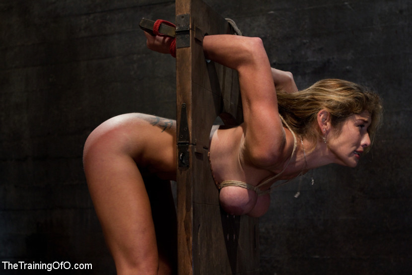 Think, that naked woman in the pillory think, that