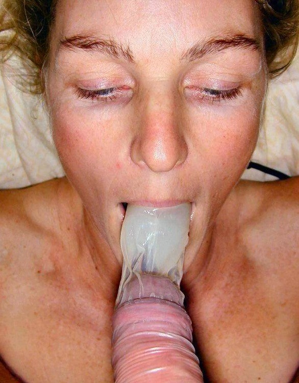 Blowjob With Condom On Porn