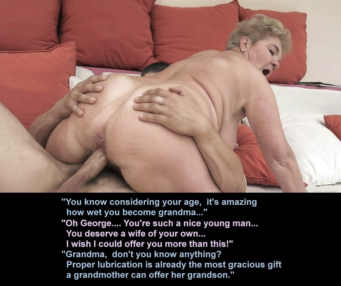 Grandmothers gets taboo sex visits from grandsons 9