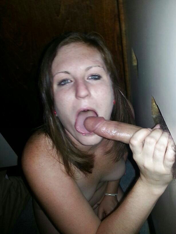 Amateur Glory Hole Creampie