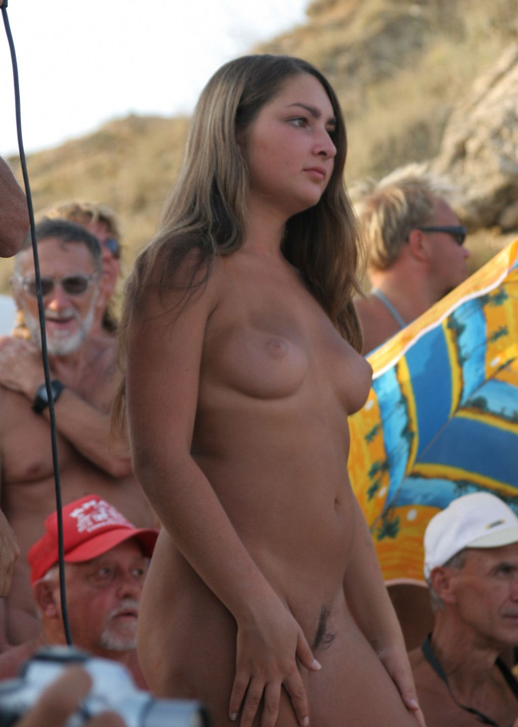 Russian nudist beach girls