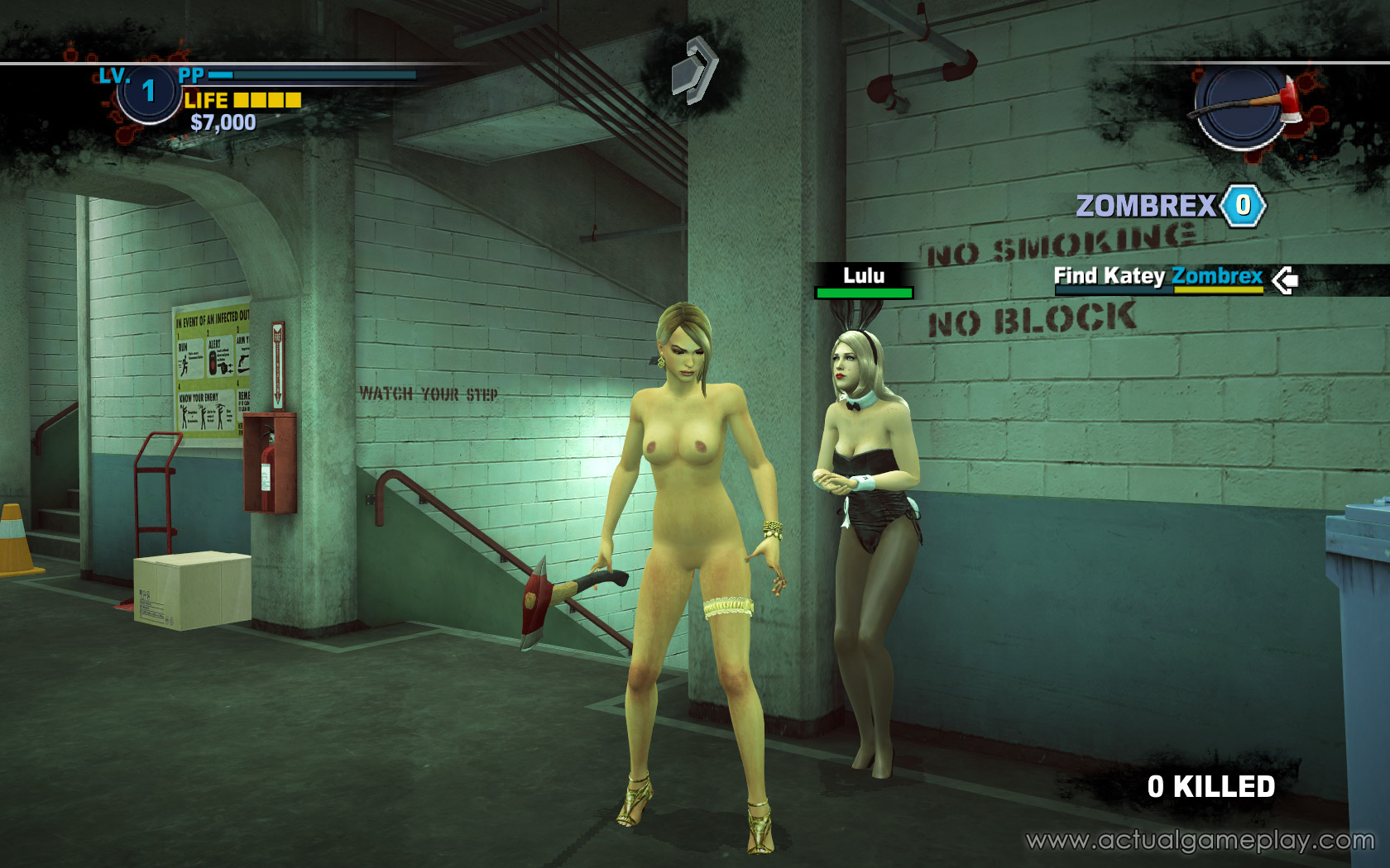 Dead rising 2 nude patch cartoon comic