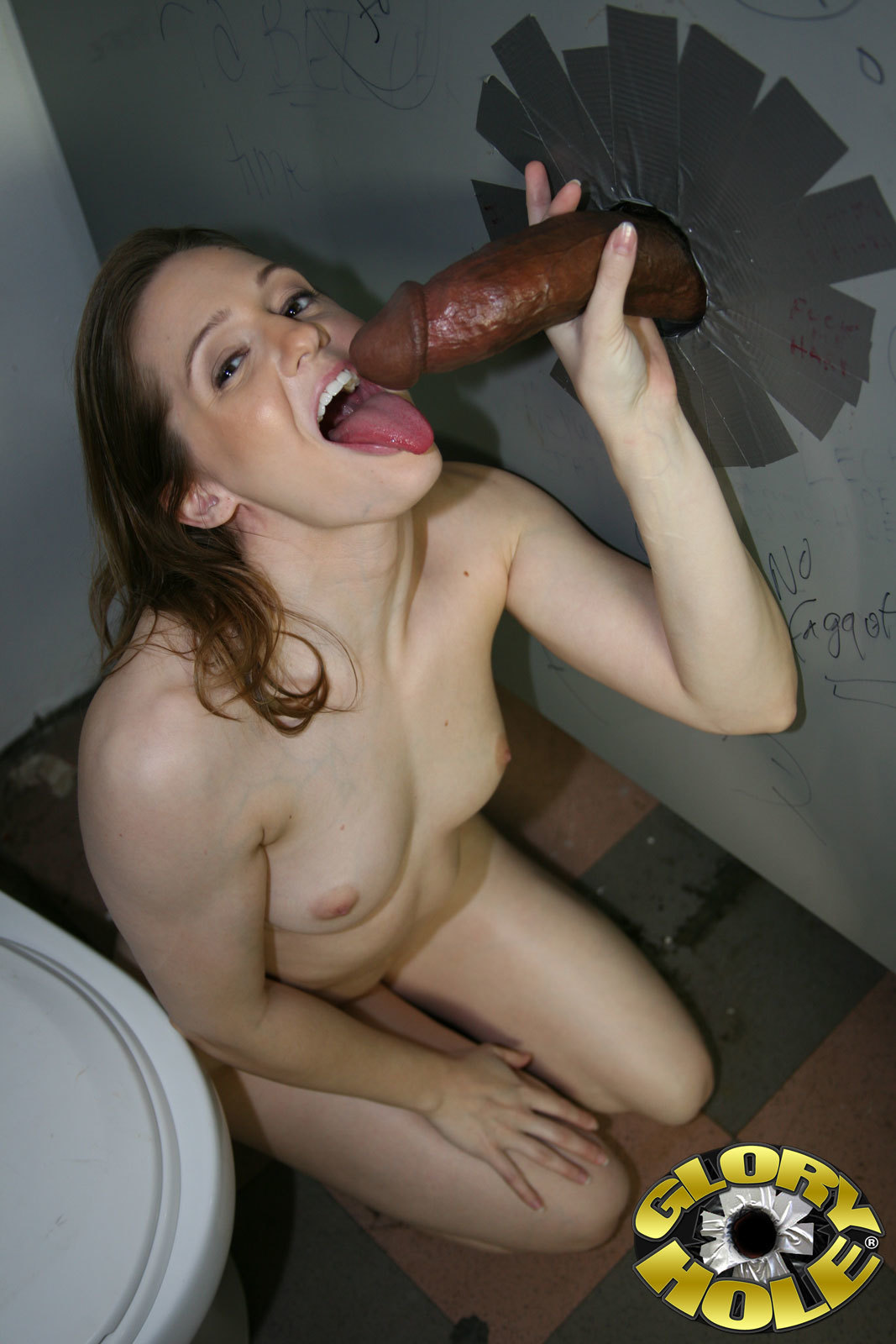 Gloryhole Wife Gets A Big One