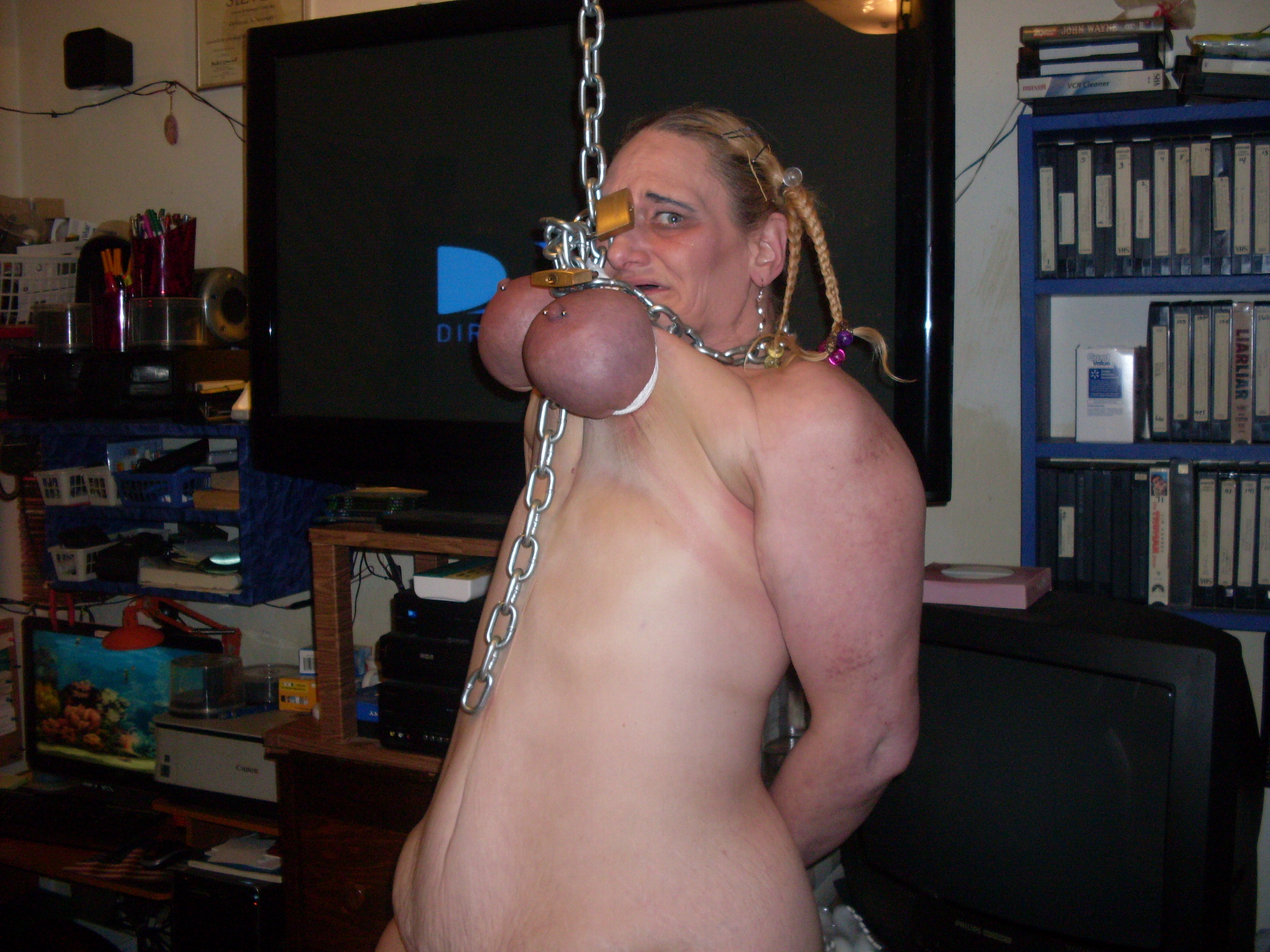 Sweet hanged hanging fucked love