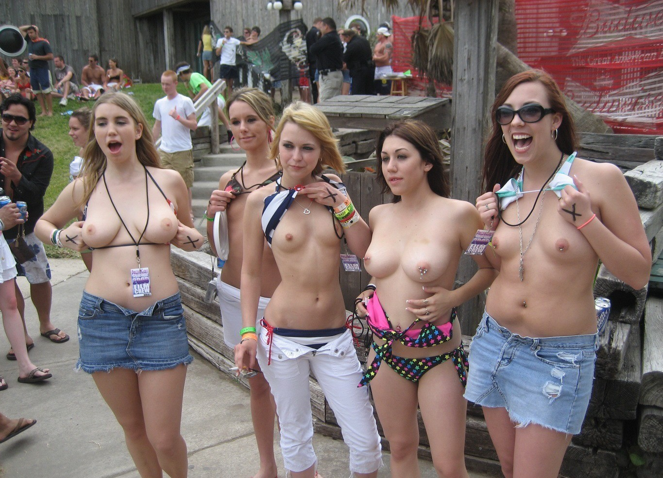 Are Nude girls group big tits not