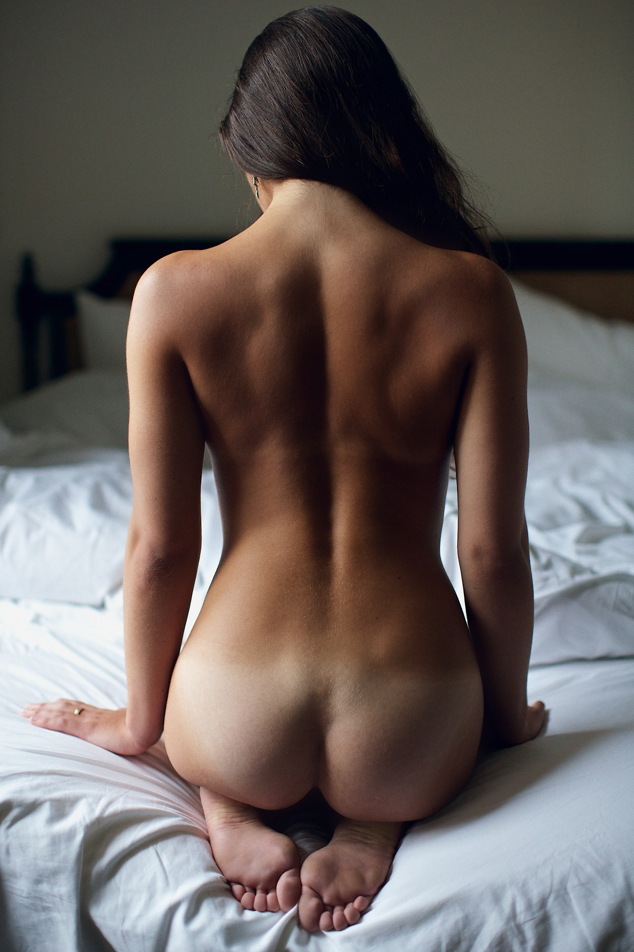 Porn wallpapers butt ass girl blonde nude body naked back