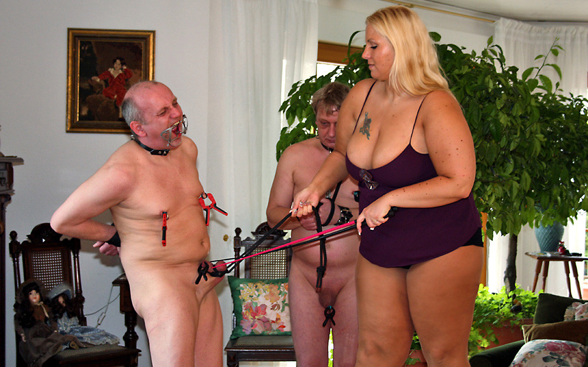 bbw femdom - cock and ball torture and femdom   motherless ™