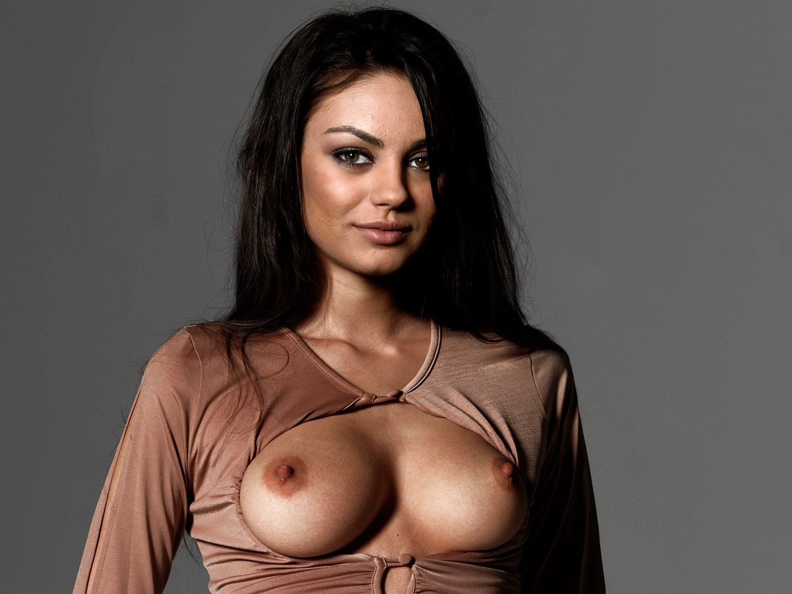 Elisha cuthbert and mila kunis sexy girls dressed in wh