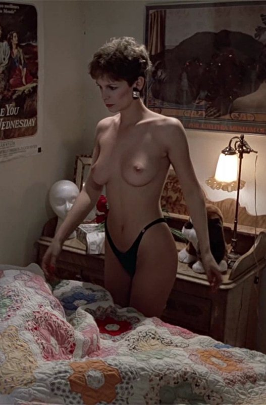 XXX pics jamie lee curtis trading places tits