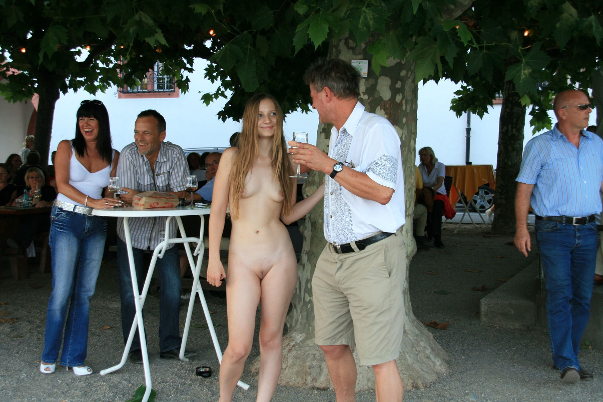 Pretty girls naked in public, pornmobille virgin first time