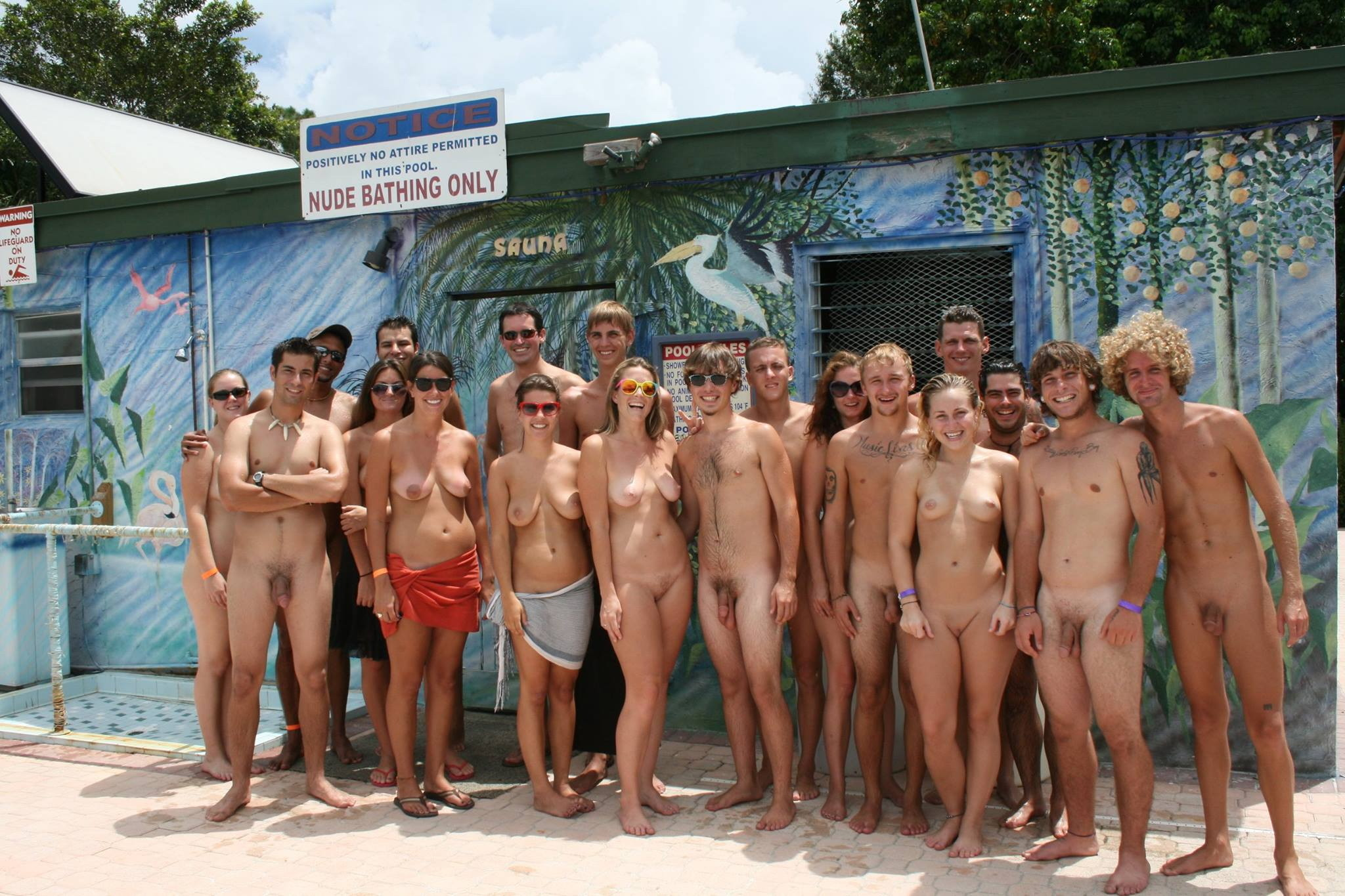 young generation nudism Nudism (August)