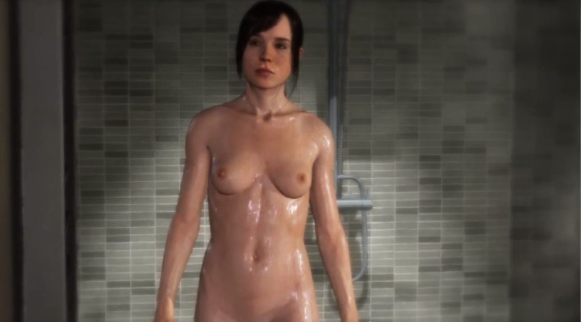 Phrase Ellen page naked topless
