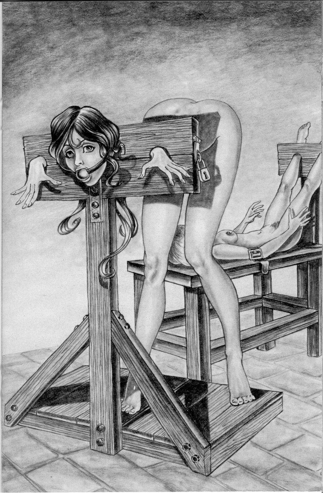 Of drawings women bondage sexy