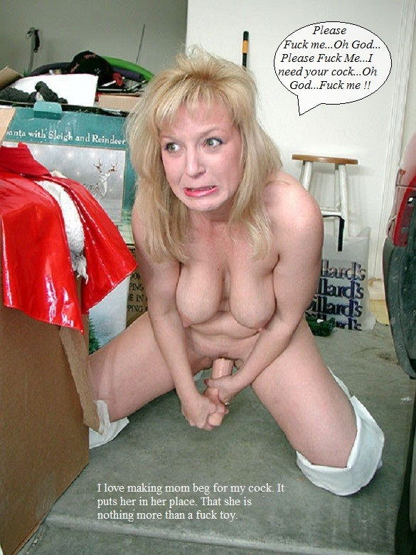 Filthy blonde whore mom takes on 2 cocks 10