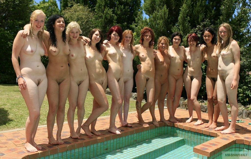 Sorry, that Group of nude girls at pool very