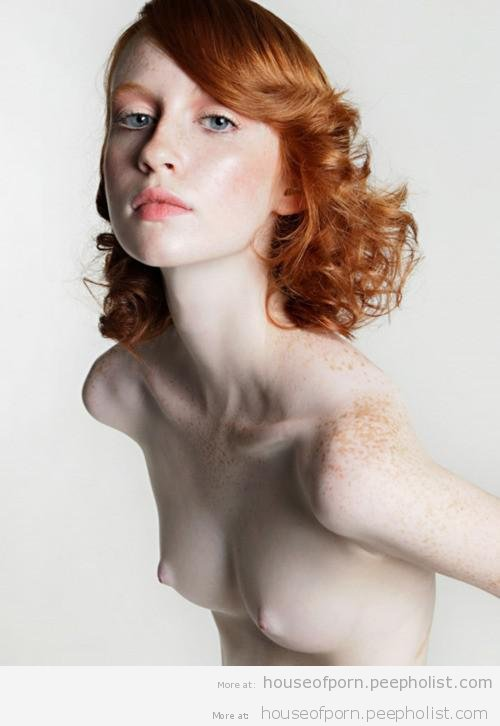 Are Pale women with freckles naked