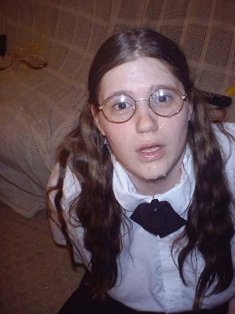 Nerd pussy amateur ugly girl