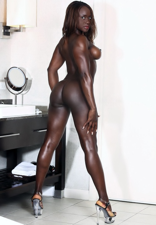 Naked dark dark black girls