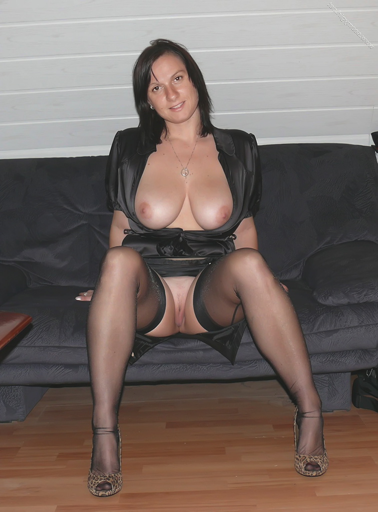Stockings wife mature amateur
