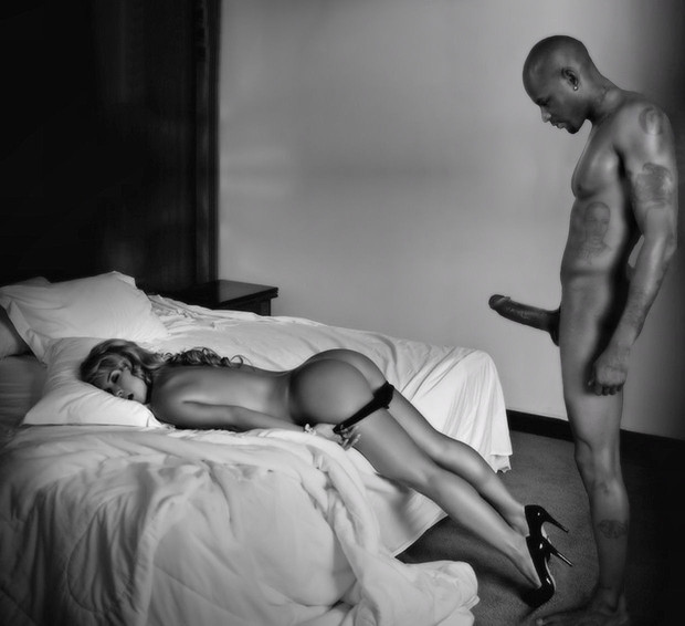 Submissive interracial pics