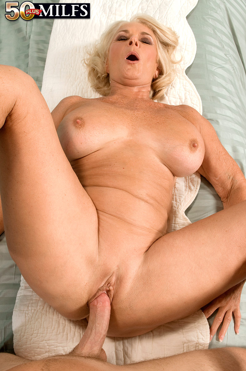 Hot old woman with big tits