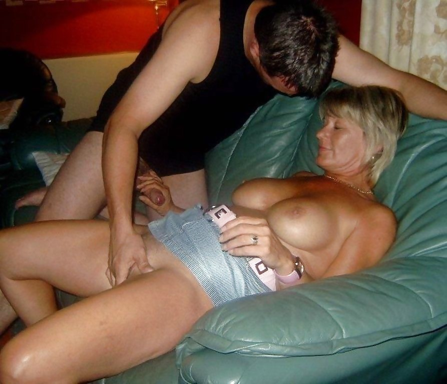 Mature ladies having sex