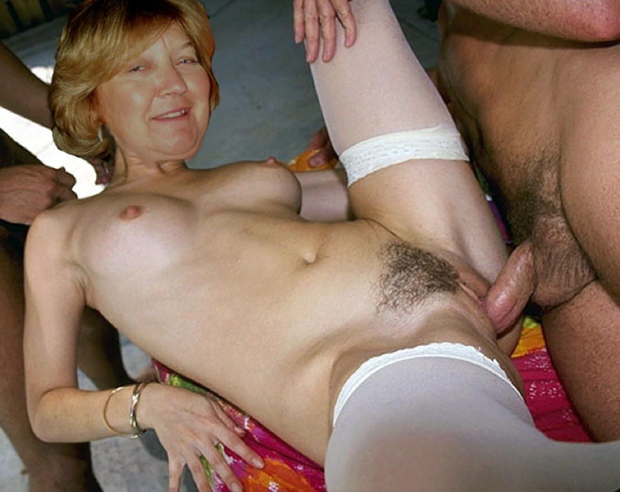 Aufnahmen Fuck hairy milfs 3somes the natural