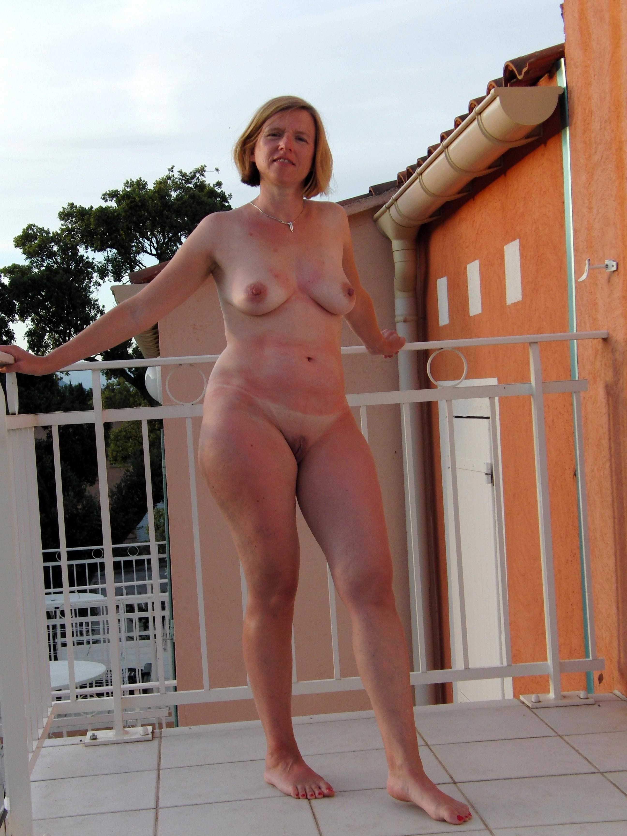 Late, naked milfs on vacation protest