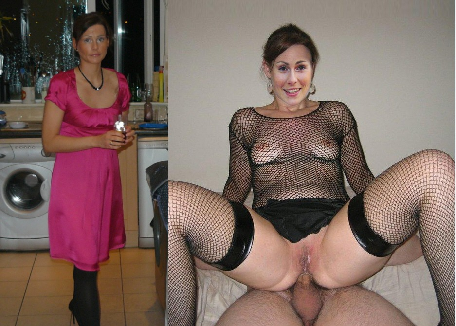 And wife undressed husband dressed