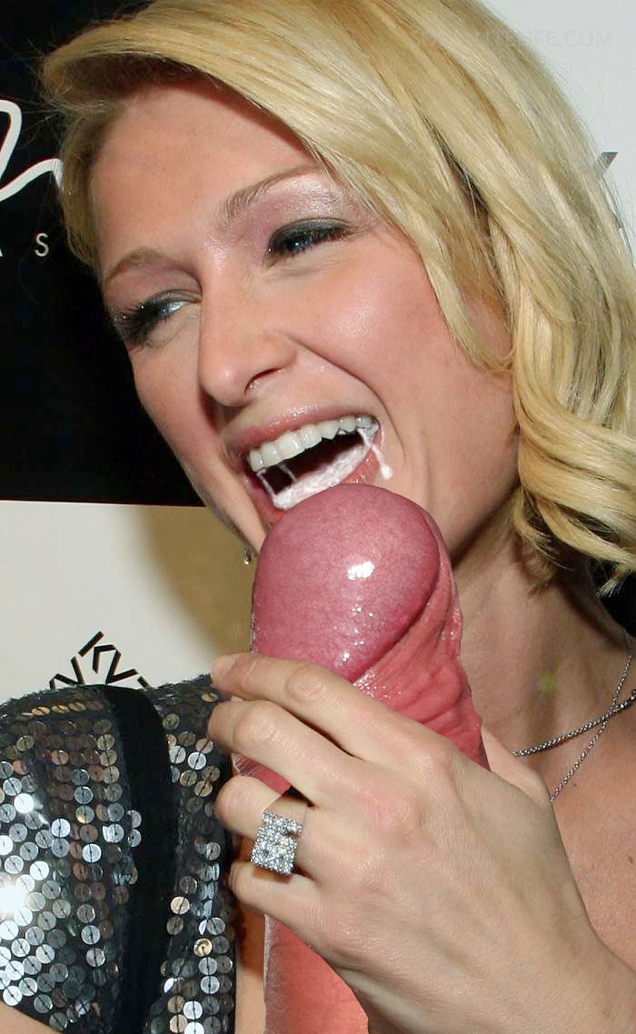 paris hilton blowjobs