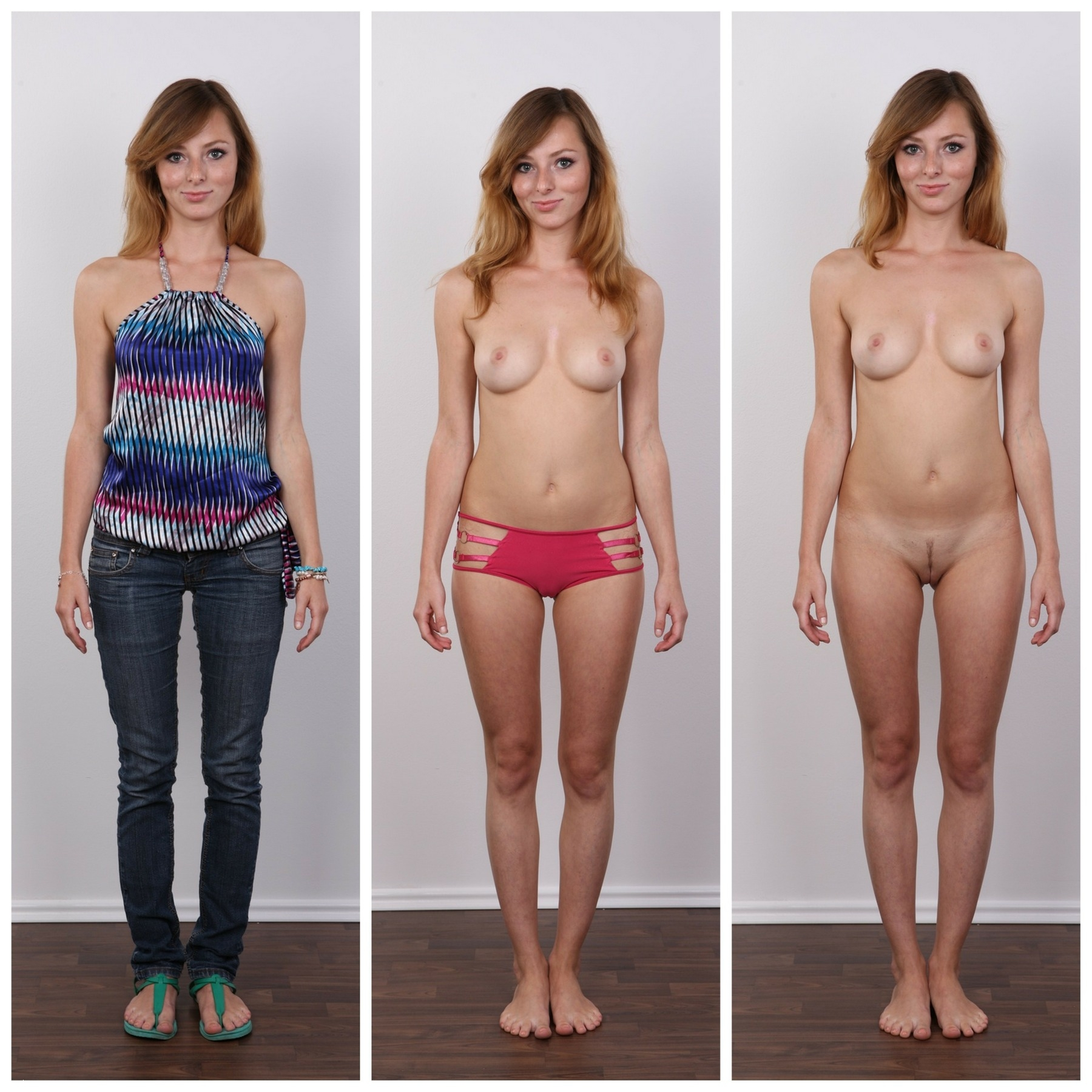 How does a girl look like naked women over
