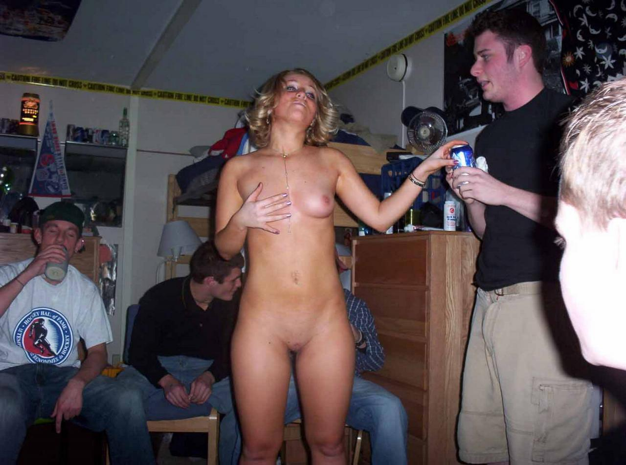 Wife drunk and naked in public remarkable, this