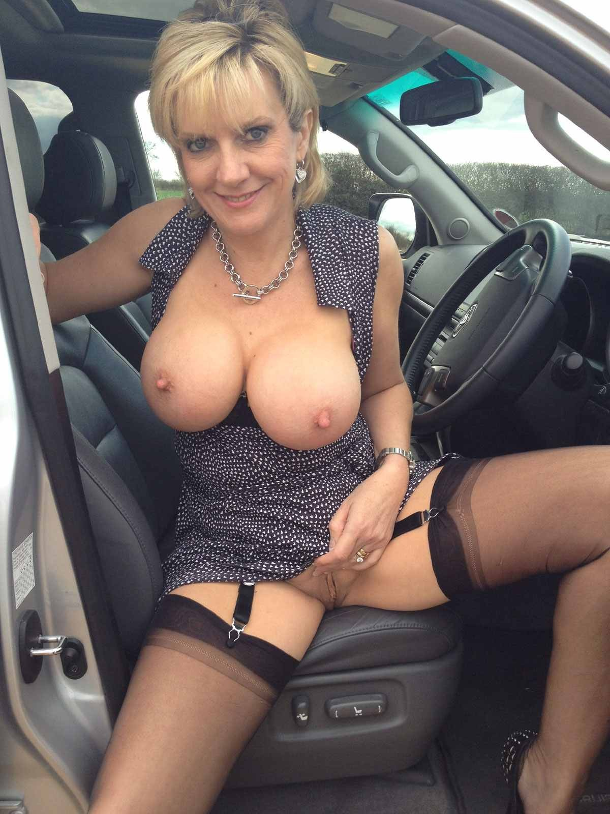 Mature big tits hot wife