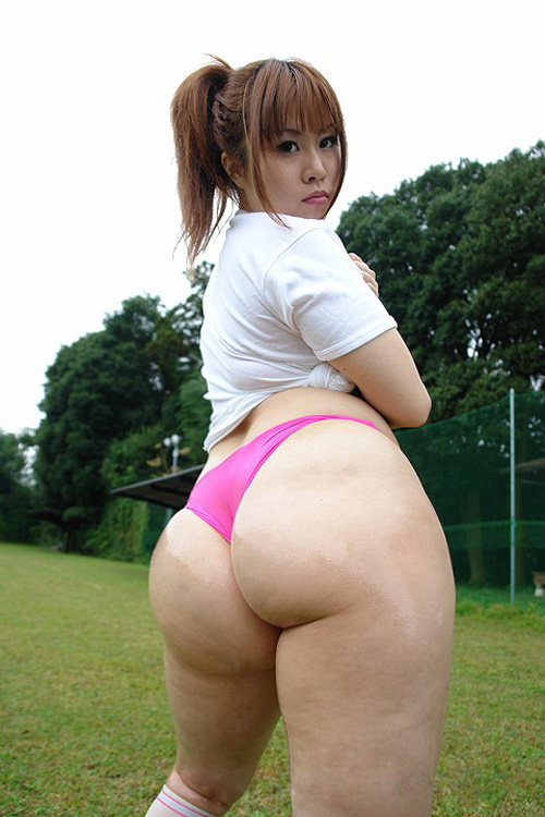 Ass asian japanese girl big