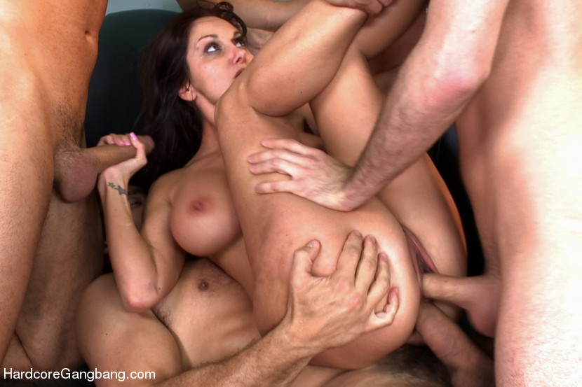 Hardcore Rough Abuse Gangbang