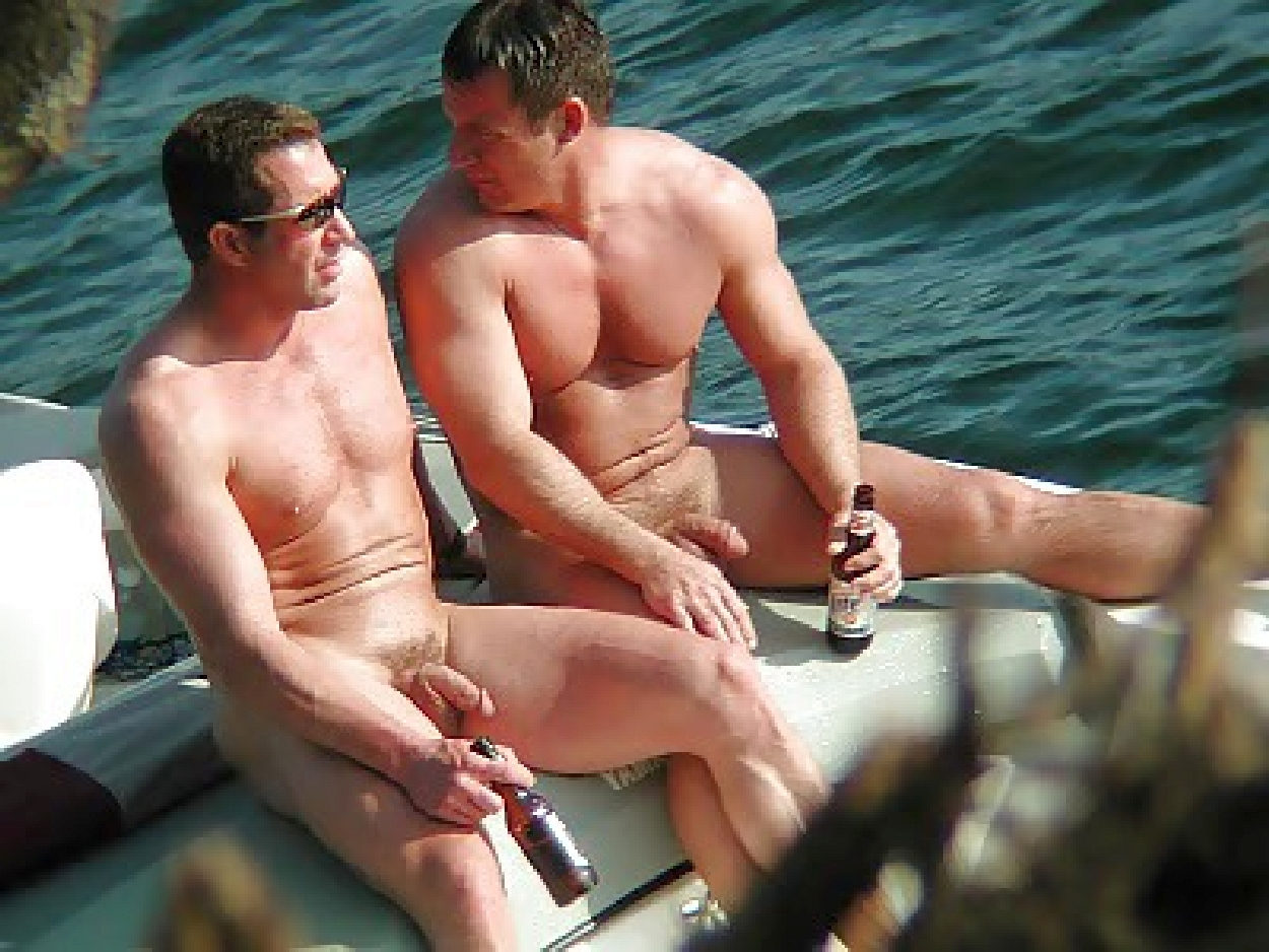 Nude in beaches men naked