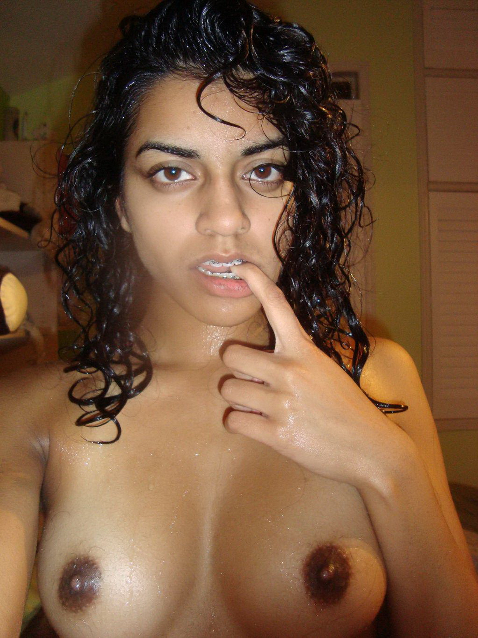 Sexy indian girl naked without face american