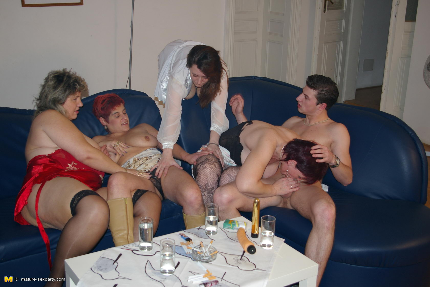 Old group fuck