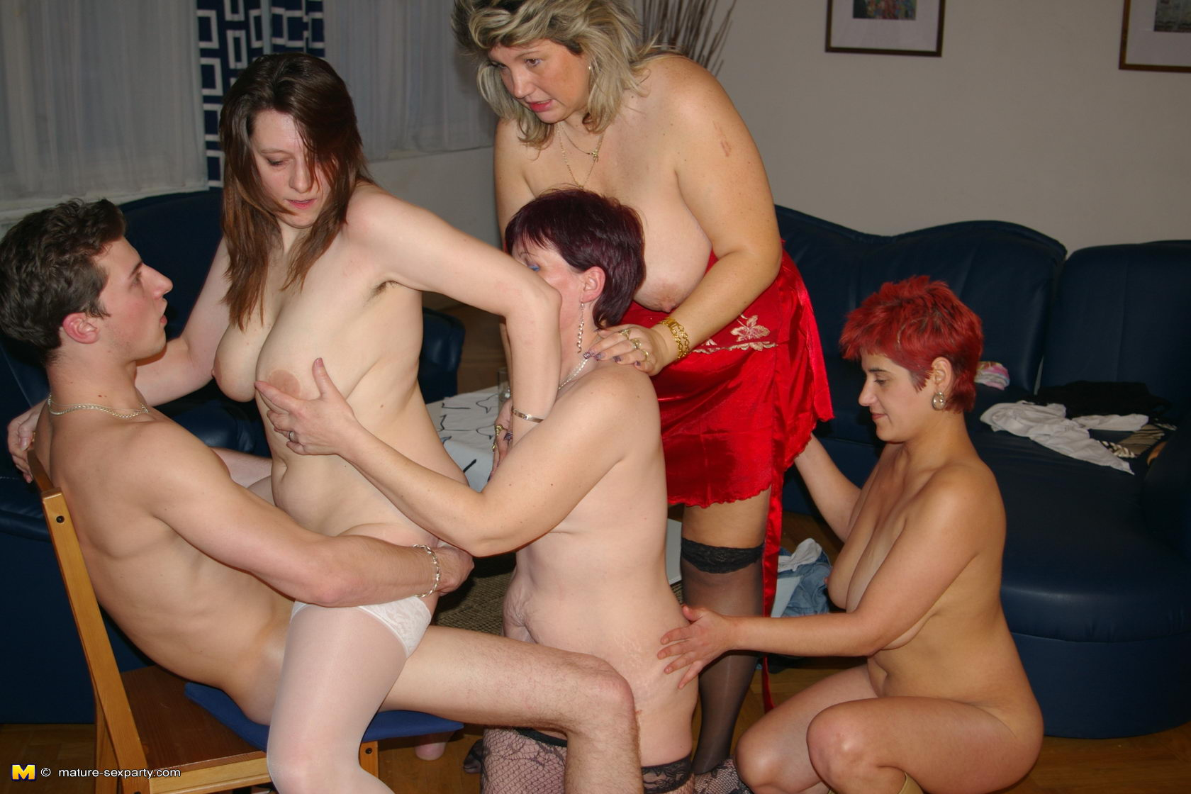 old woman with young men porn