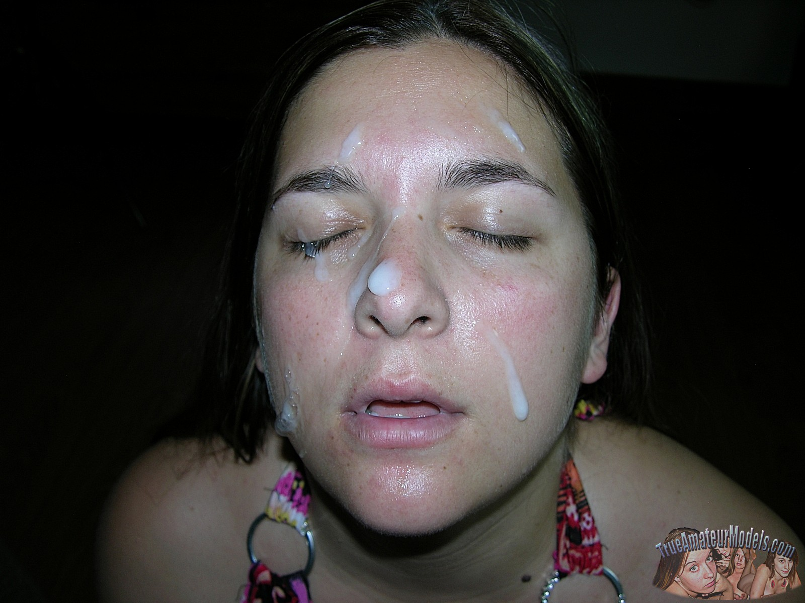 Amateur bbw facial