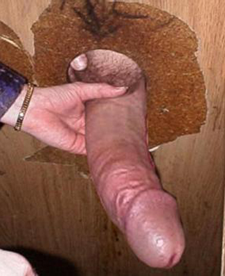 First Ever Big Cock