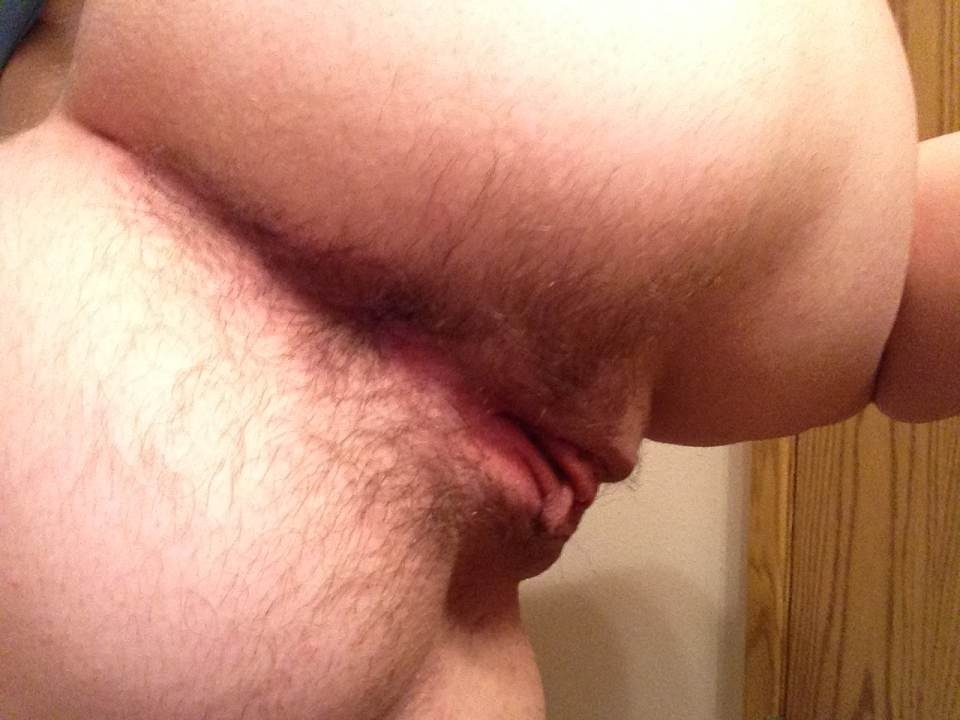 Shaved pussy and asshole