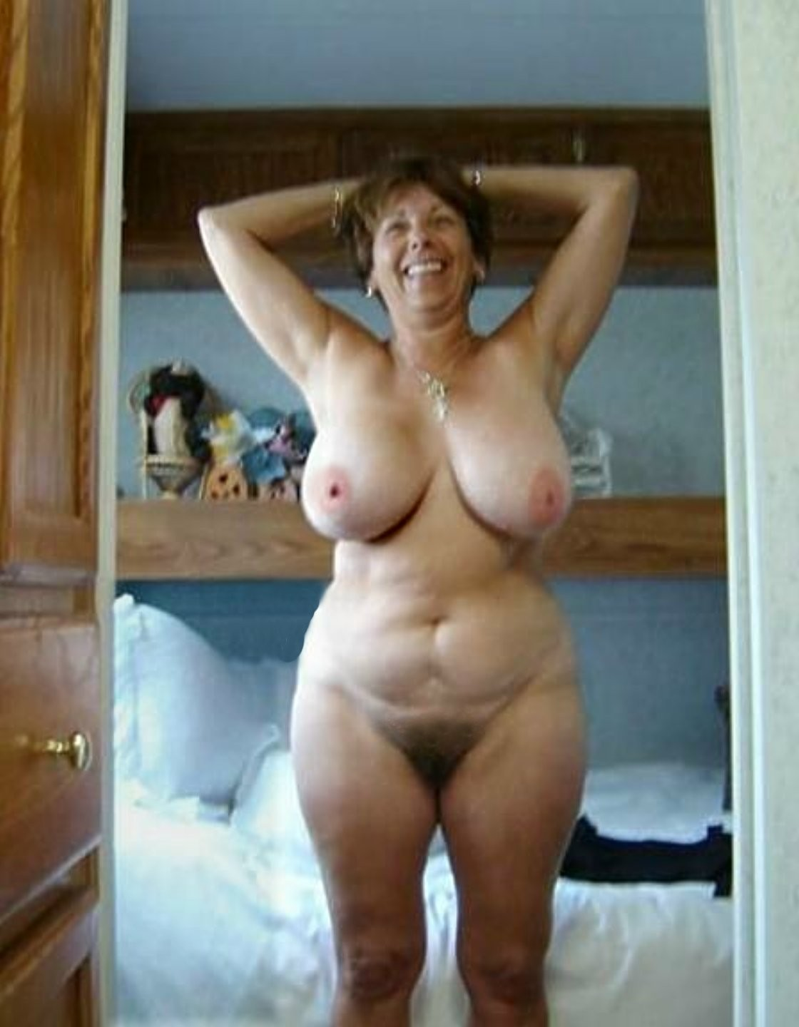 Low hanging tits porn