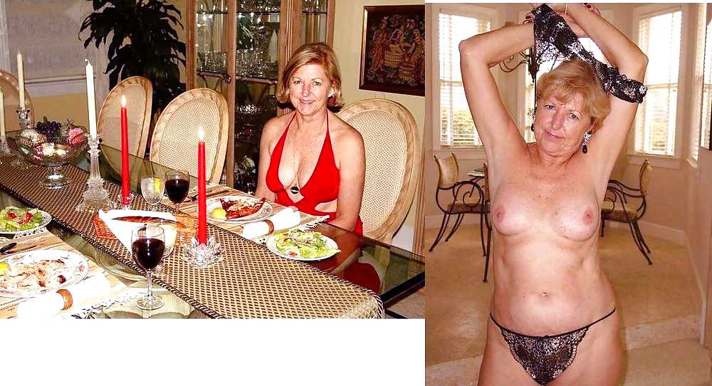 Before and after milfs can