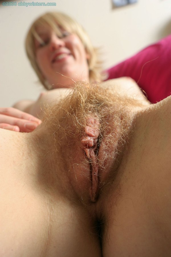blonde hair pubic Hairy pussy