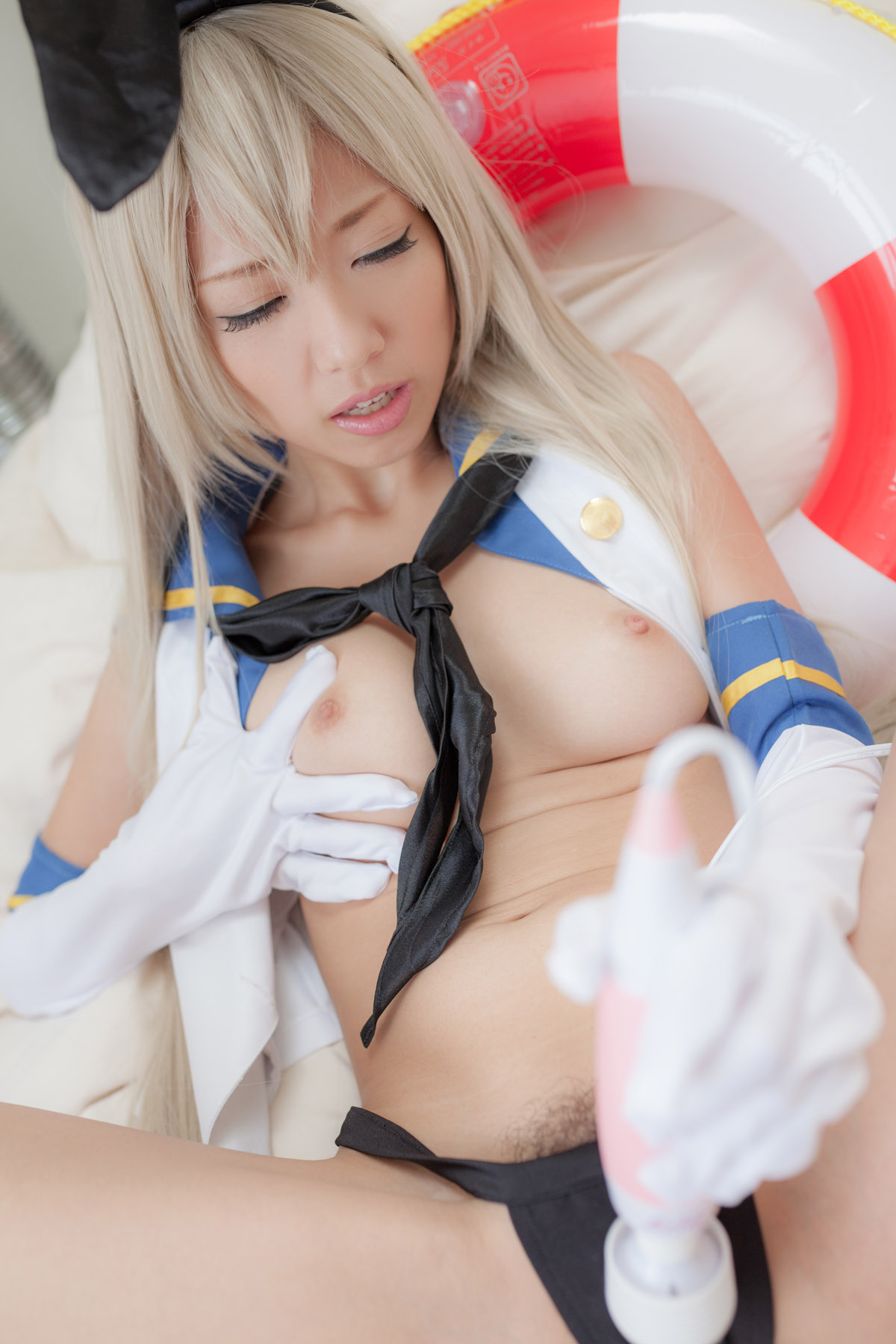 shimakaze nude collection Kantai cosplay