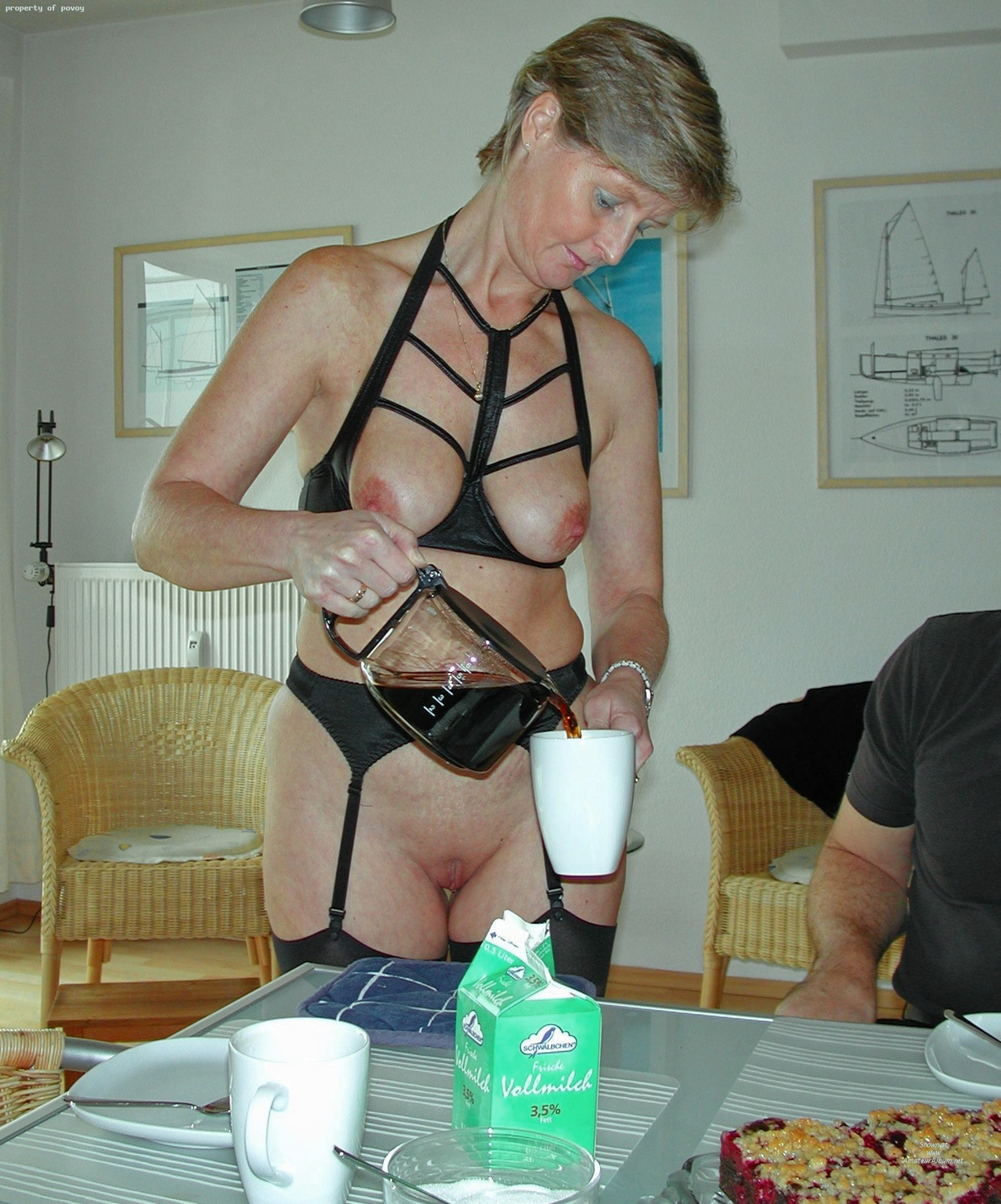 Amateur mature slave 1 of 3