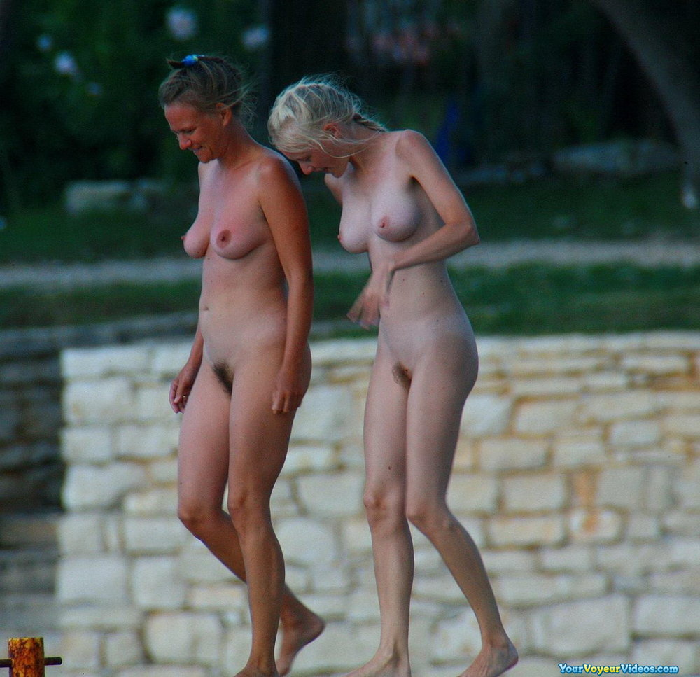 Pity, that Naked in public milfs